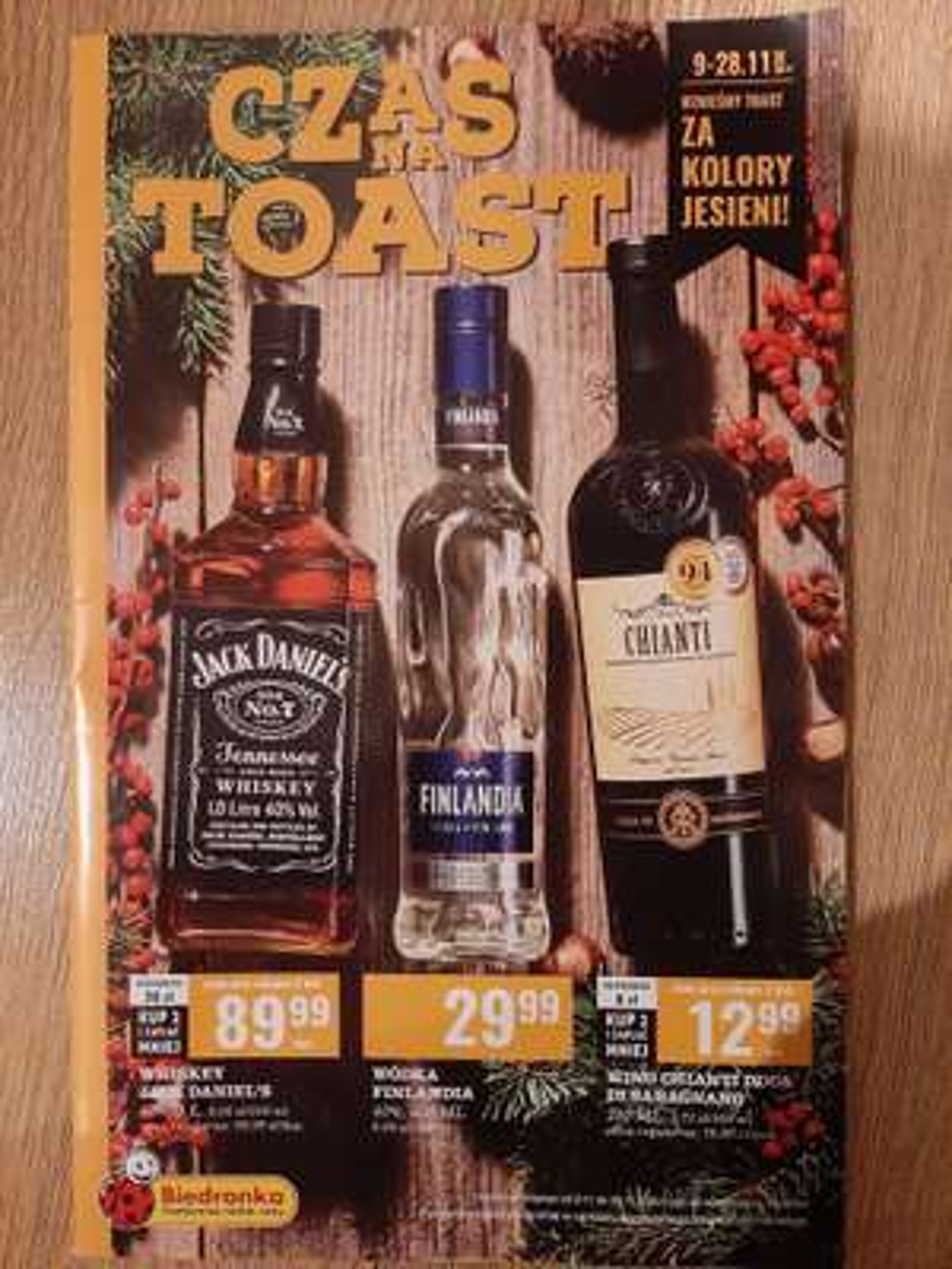 Czas na toast! - oferta alkoholowa - Biedronka