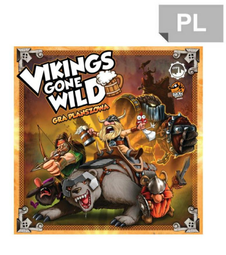 al.to Vikings gone wild - gra planszowa
