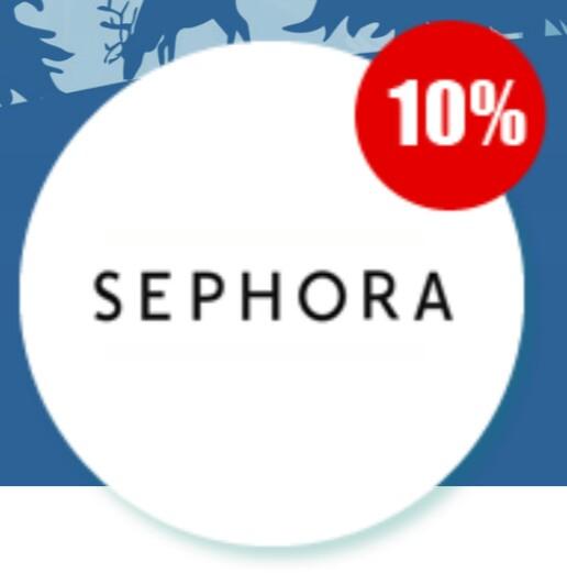 Cashback 10% @ Sephora @ PlanetPlus