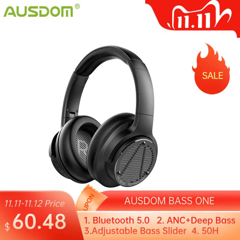 Ausdom słuchawki bezprzewodowe - ANC / bluetooth 5.0 @aliexpress