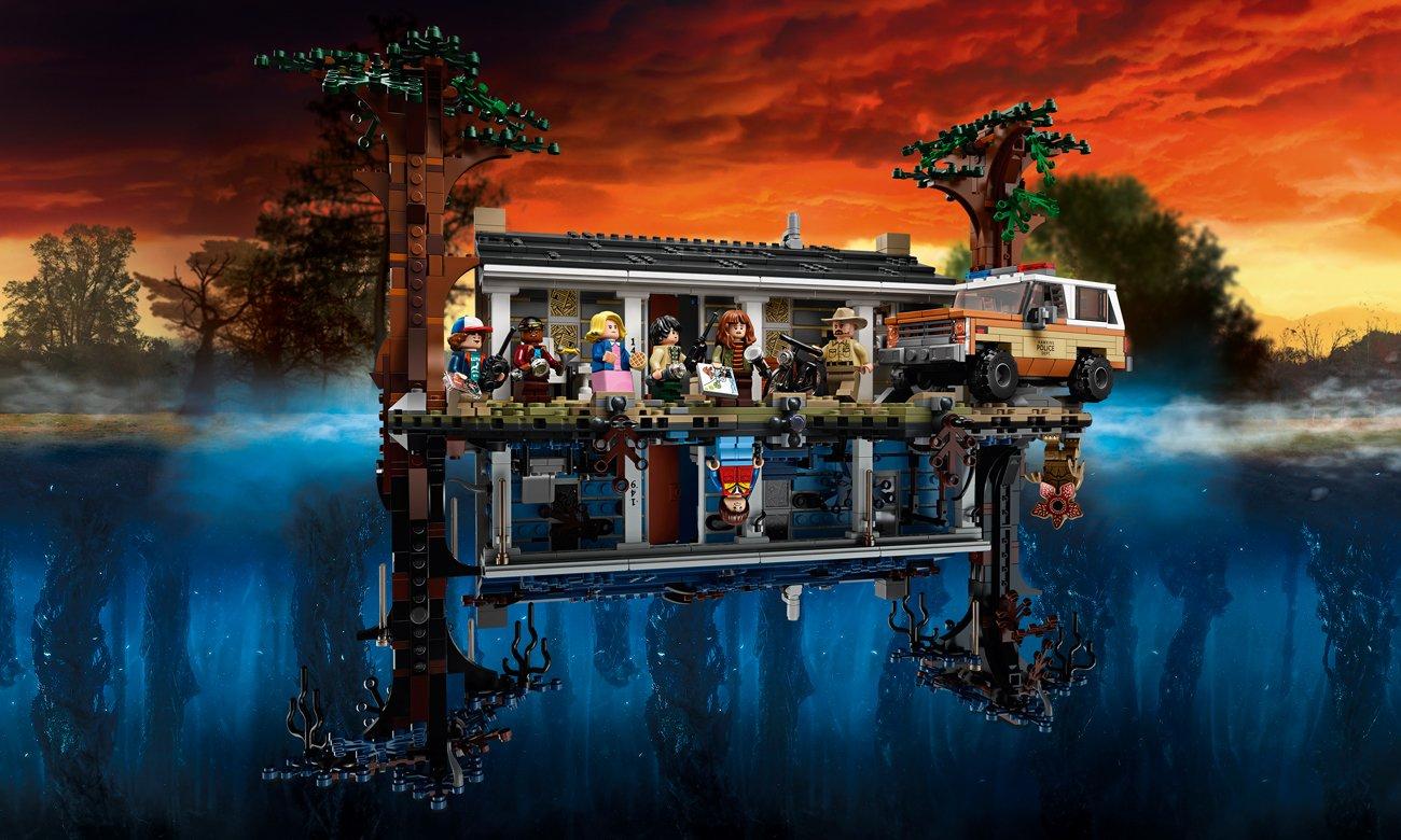 LEGO Stranger Things, klocki The Upside Down, 75810