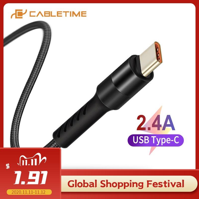 Kabel CableTime QC do USB-C 1m @Aliexpress