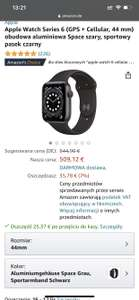 Apple Watch 6 44 mm GPS cellular