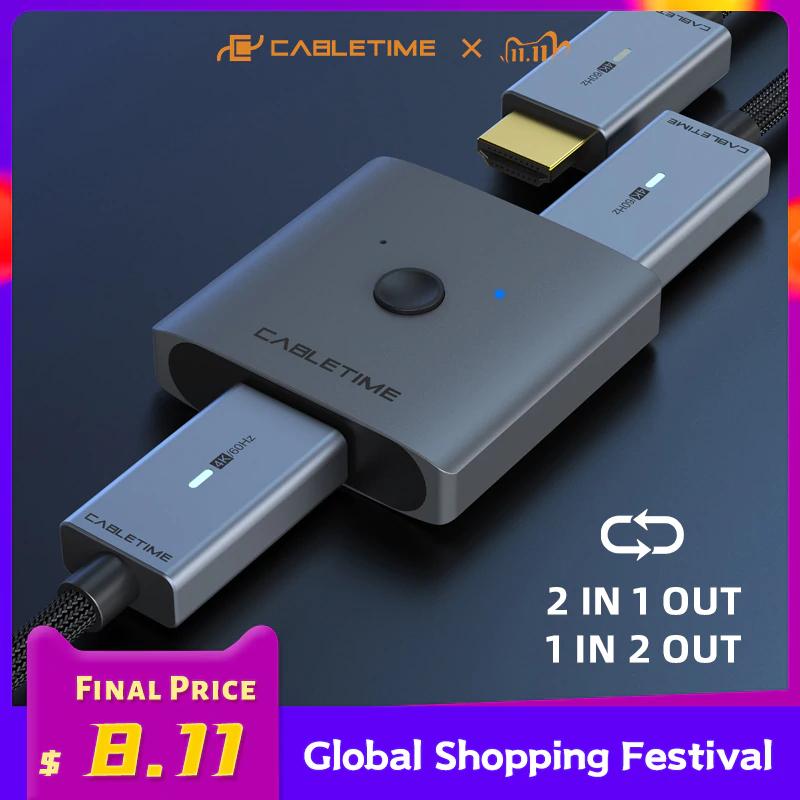 CABLETIME rozdzielacz HDMI @Aliexpress