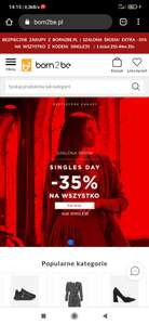 Born 2 Be -35% na wszytko.