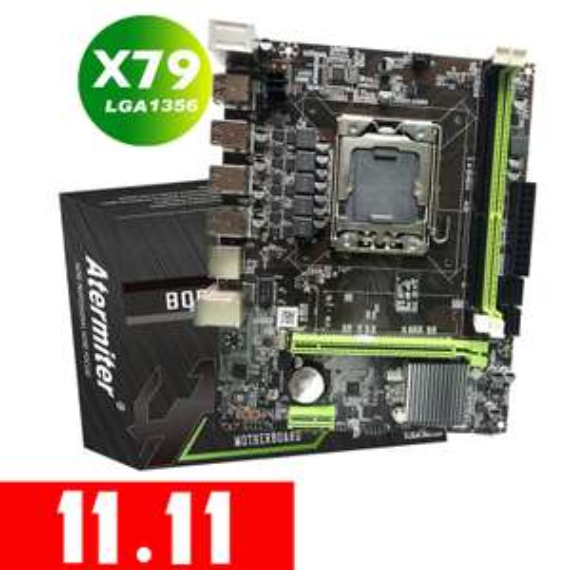 Atermiter X79 LGA 1356 warunkowo polecana płyta pod cpu e5-entry $38.99