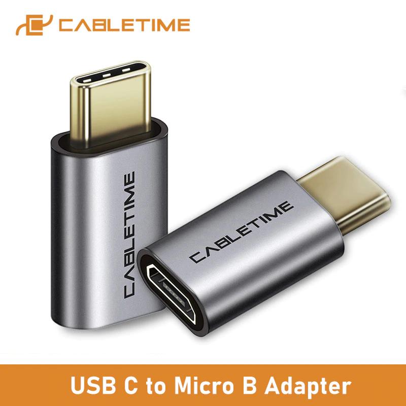 CableTime przejściówka Micro USB - USB-C