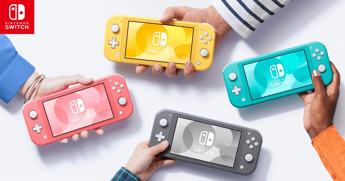 Nintendo Switch Lite w Amazon DE - wszystkie cztery wersje, 179,77 €