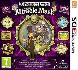 Professor Layton and the Miracle Mask (NINTENDO 3DS) za ~80zł  @TheGameCollectionOutlet