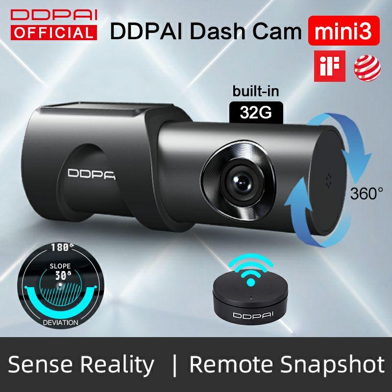Kamera samochodowa DDPai Dash Cam Mini 3 1600P z dostawą z PL @Aliexpress