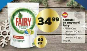 Netto- kapsułki do zmywarki Fairy 60 sztuk all in one