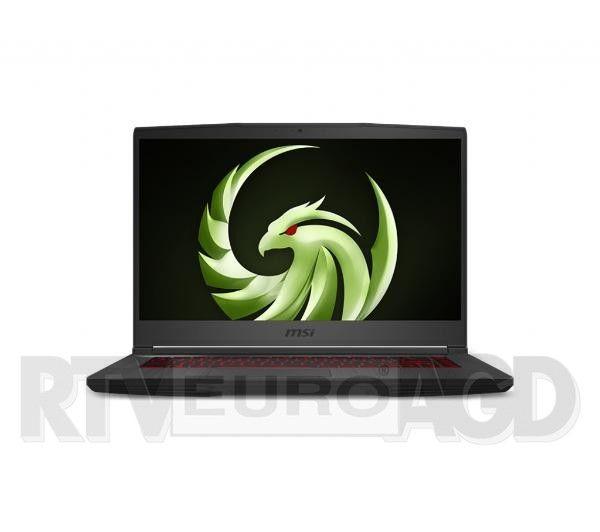 "Laptop MSI Bravo 15 A4DDR-241PL 15,6"" 144Hz AMD Ryzen 5 4600H - 16GB RAM - 512GB Dysk - RX5500M Grafika - Win10"