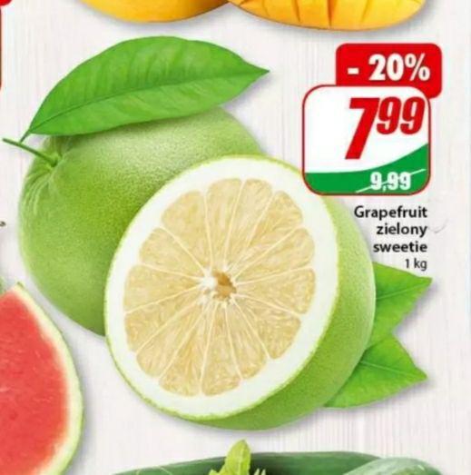 Grapefruit zielony sweetie