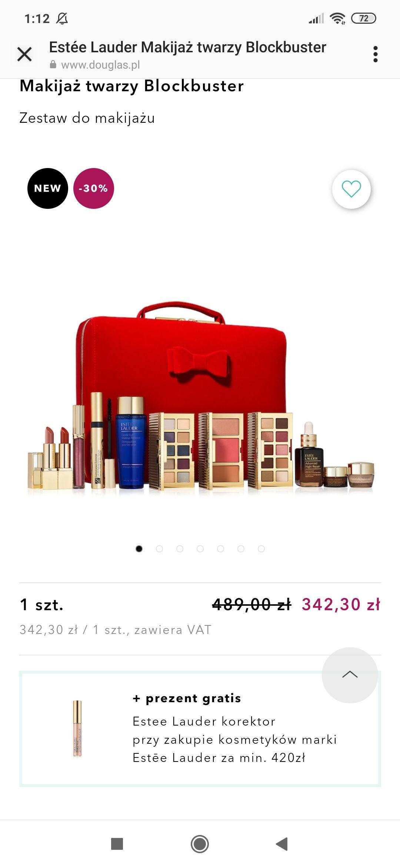 Świąteczny box makijażowy Estee Lauder w Douglas
