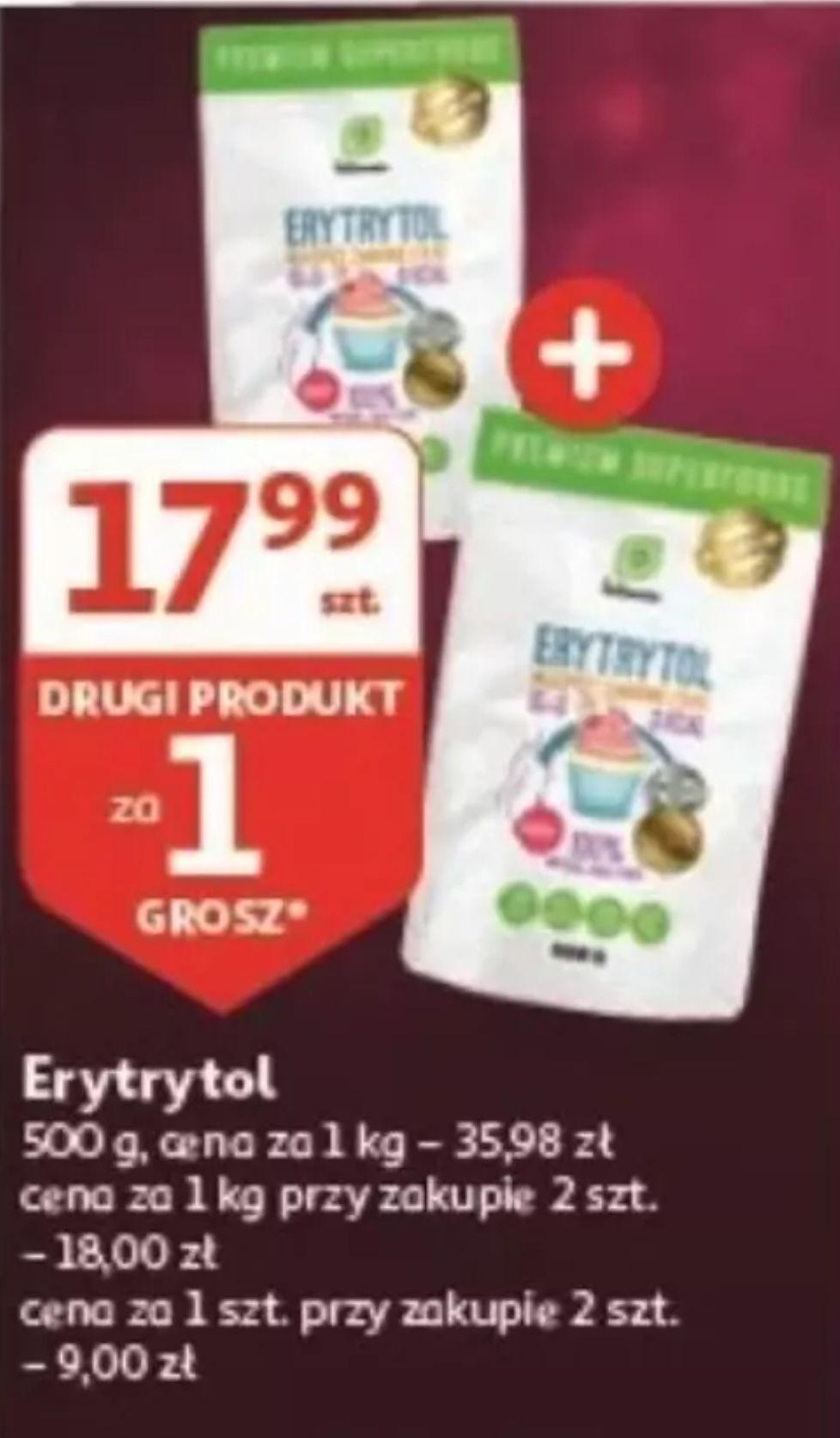 Auchan - Erytrytol 1kg - 18zł