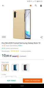 Nillkin frosted Galaxy Note 10
