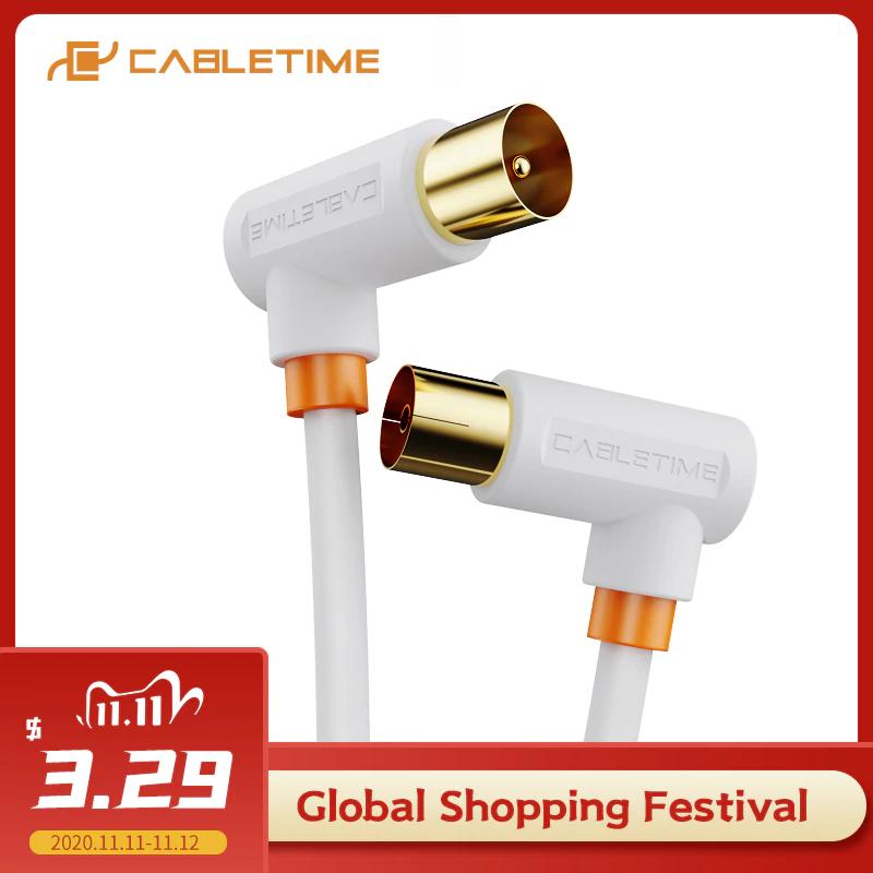 Kabel antenowy od CableTime 1m @Aliexpress
