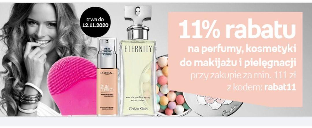 11% rabatu na perfumy, kosmetyki do makijażu i pielęgnacji Empik