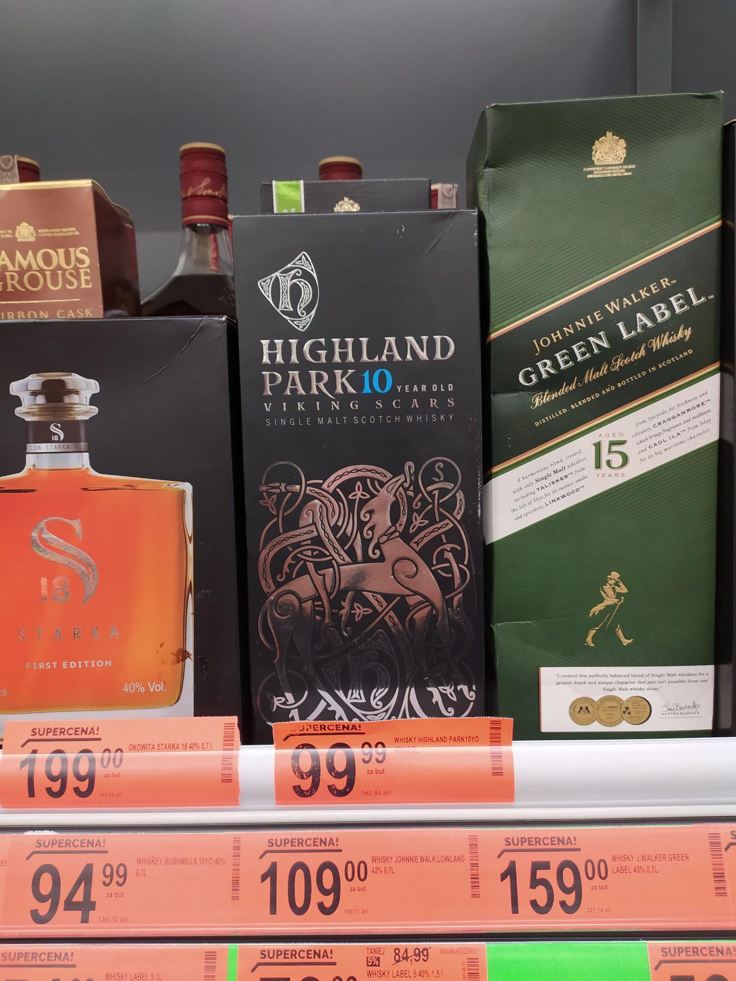 Whisky Johnnie Walker Green Label 0.7