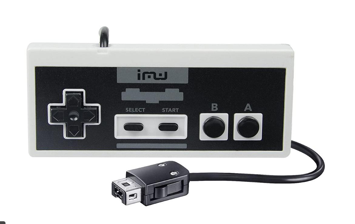 Kontrolery iMW dla NES i Super NES Classic