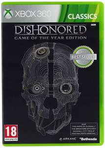 Dishonored Games of the Year PL XBox 360 Nowa
