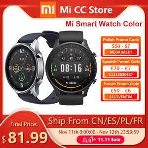 Xiaomi Mi Watch XMWT06 Stylish Silver NFC 1.39'' AMOLED GPS z Polski