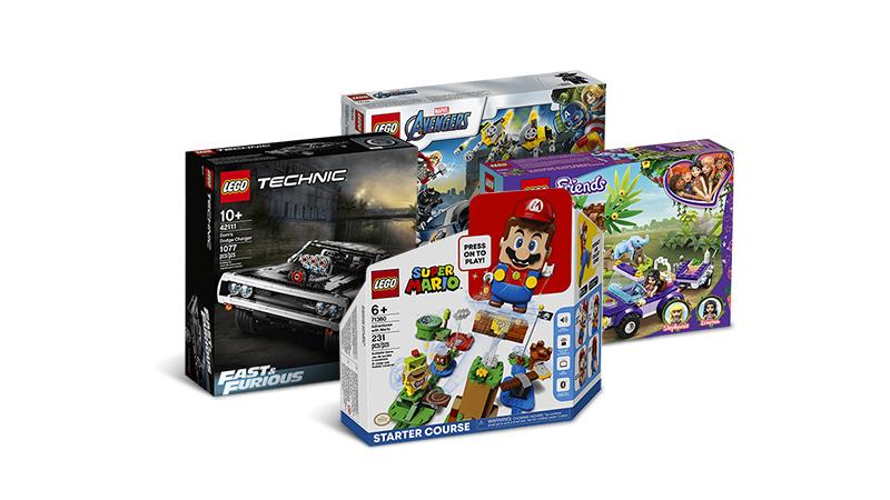 Dowolne zestawy LEGO z darmową dostawą do Paczkomatu @al.to
