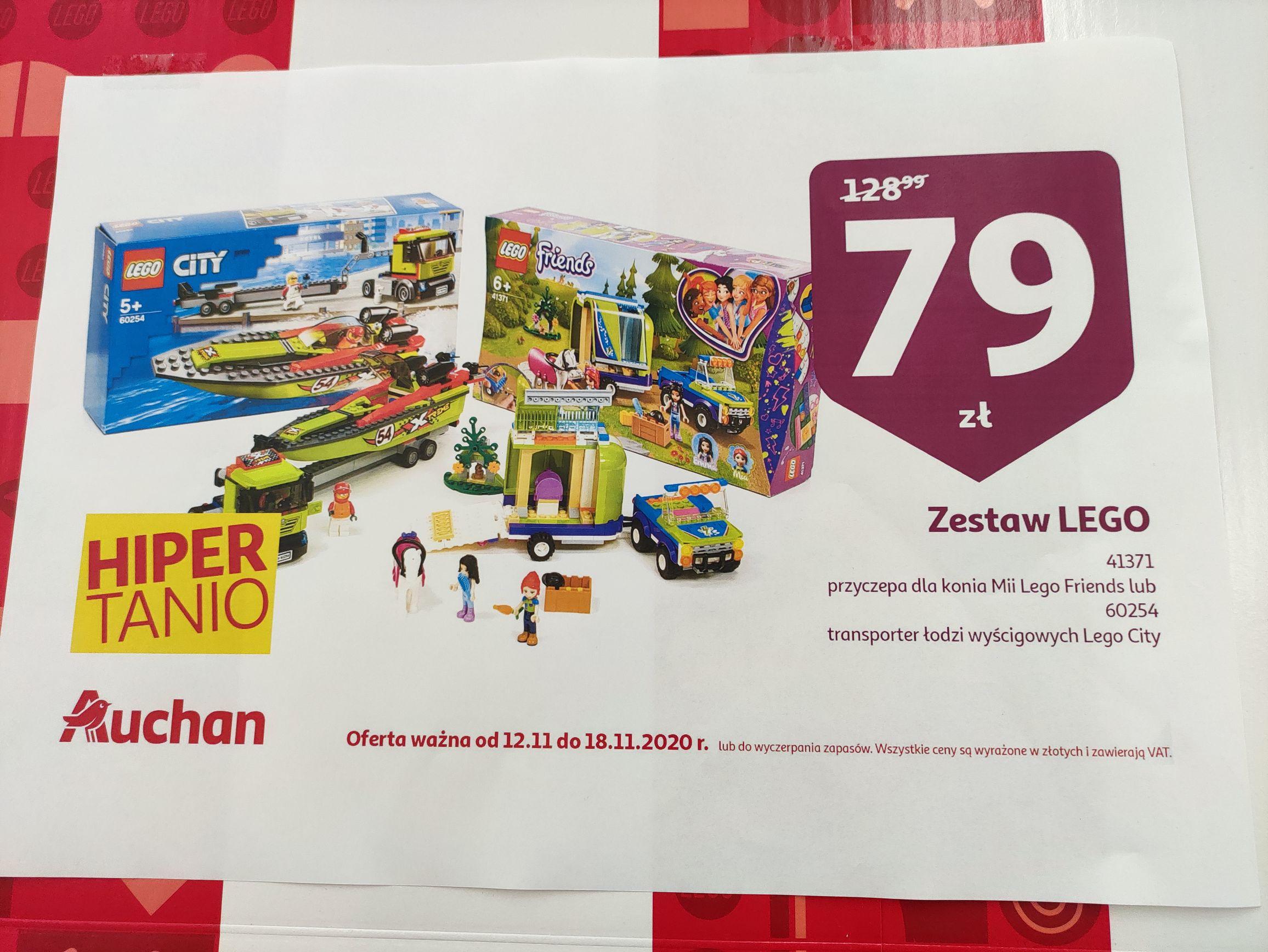 LEGO friends 41371 lub City 60254 Radom Auchan Ustronie