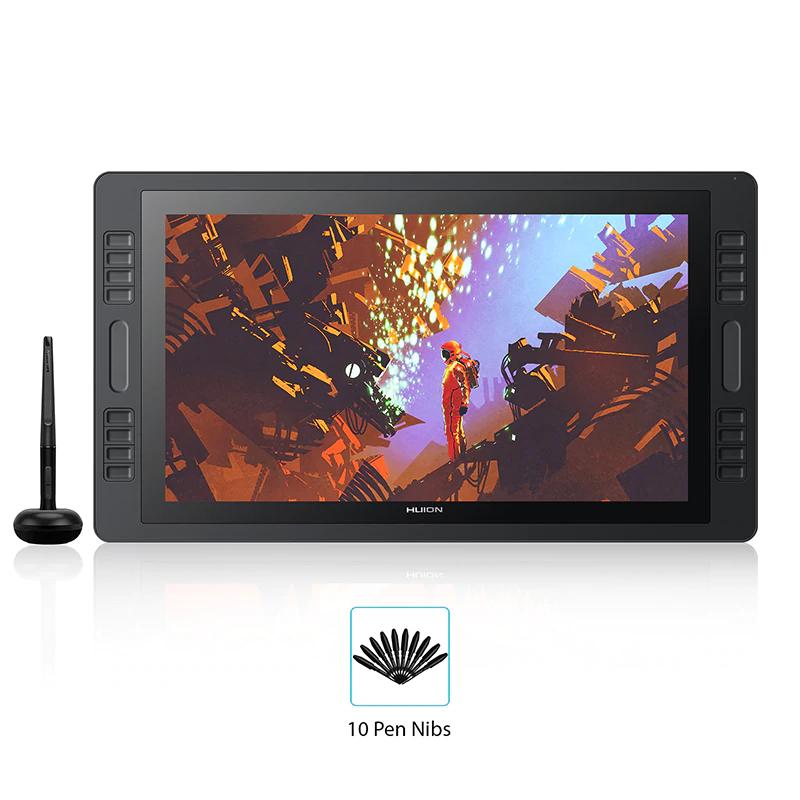 Tablet graficzny HUION KAMVAS Pro 20 z Hiszpanii @AliExpress