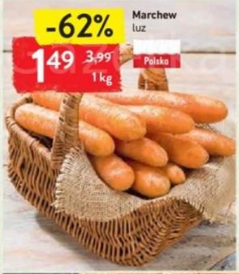 Polska Marchew 1,49zł/kg - Intermarche