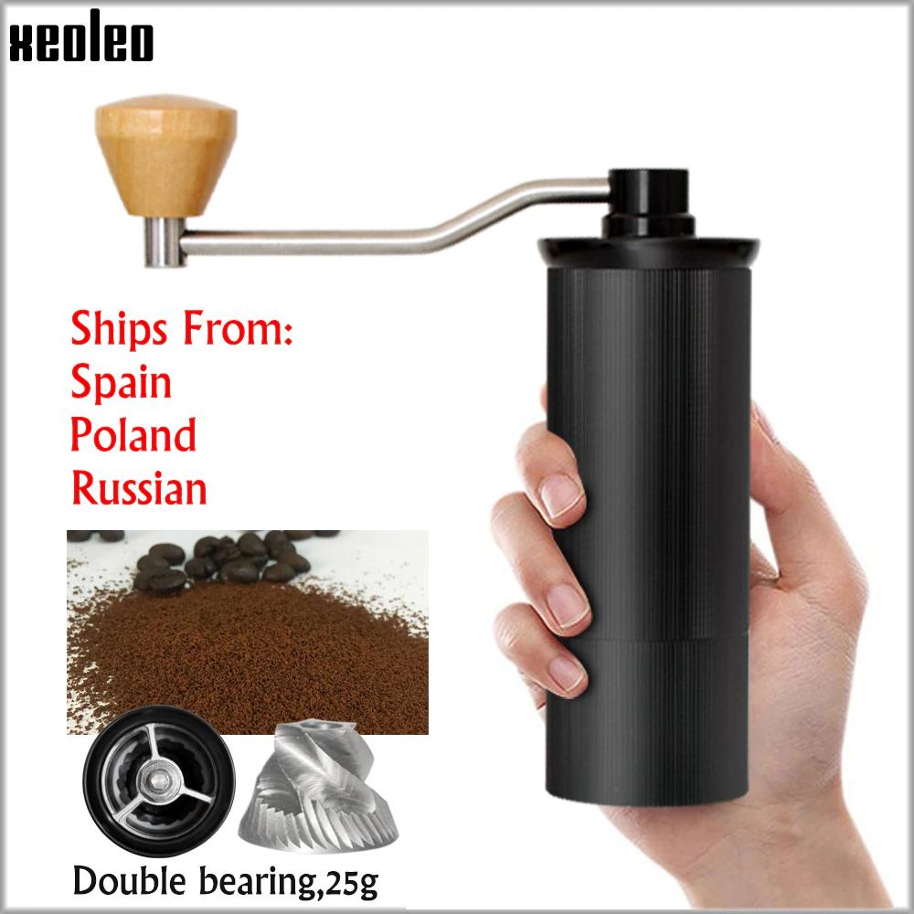 Młynek ręczny do kawy XEOLEO 50 mm US $41.28