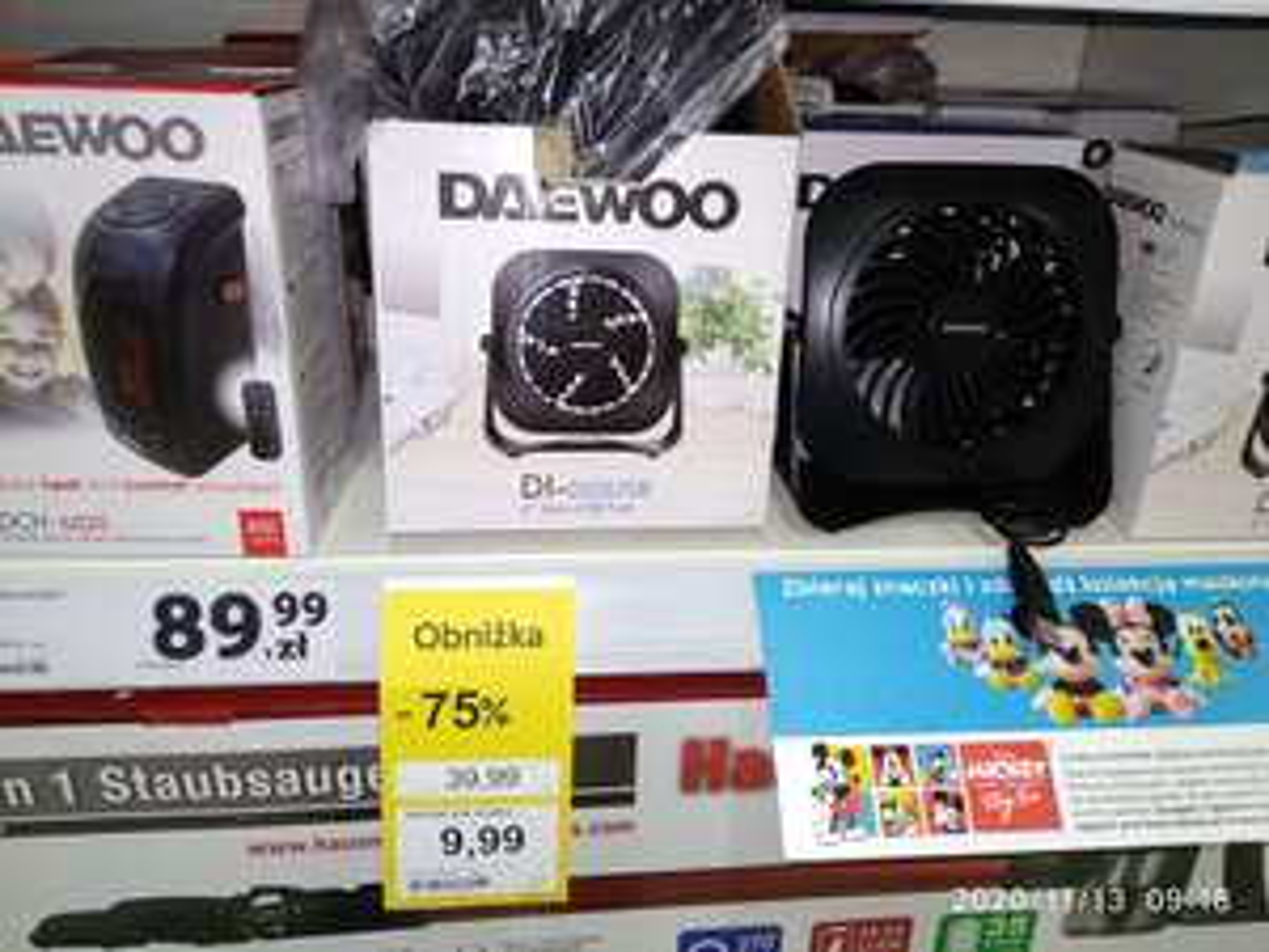 Tesco Ostrowiec Świętokrzyski -Wiatrak USB - Daewoo