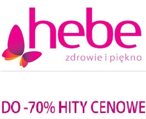 Do 70% rabatu na wybrane produkty @ Hebe