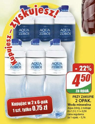 Woda mineralna Aqua Zdrój