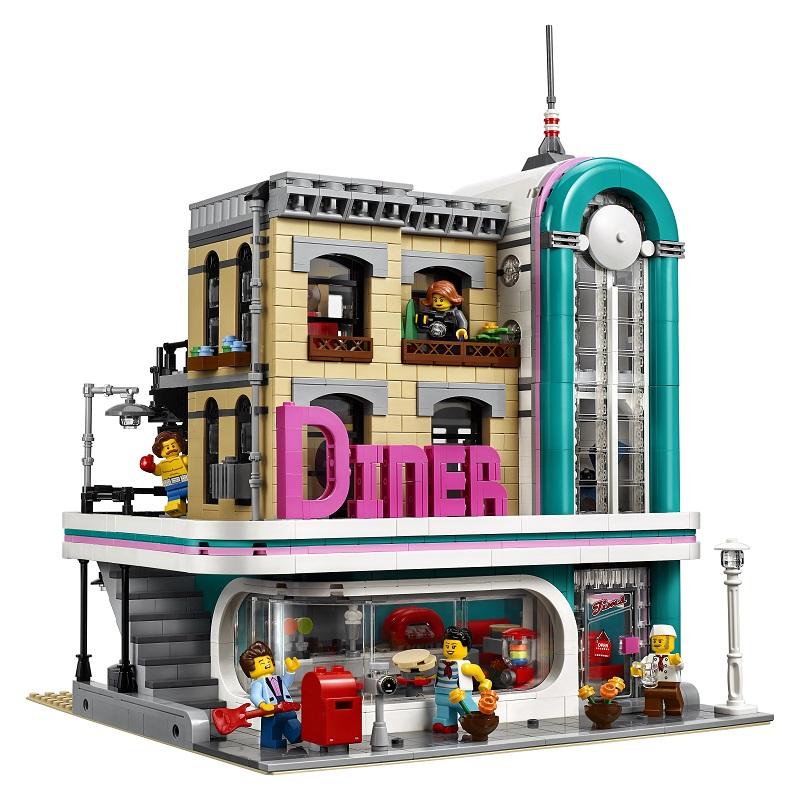 Lego Bistro w śródmieściu 10260 (wym. Empik Premium)