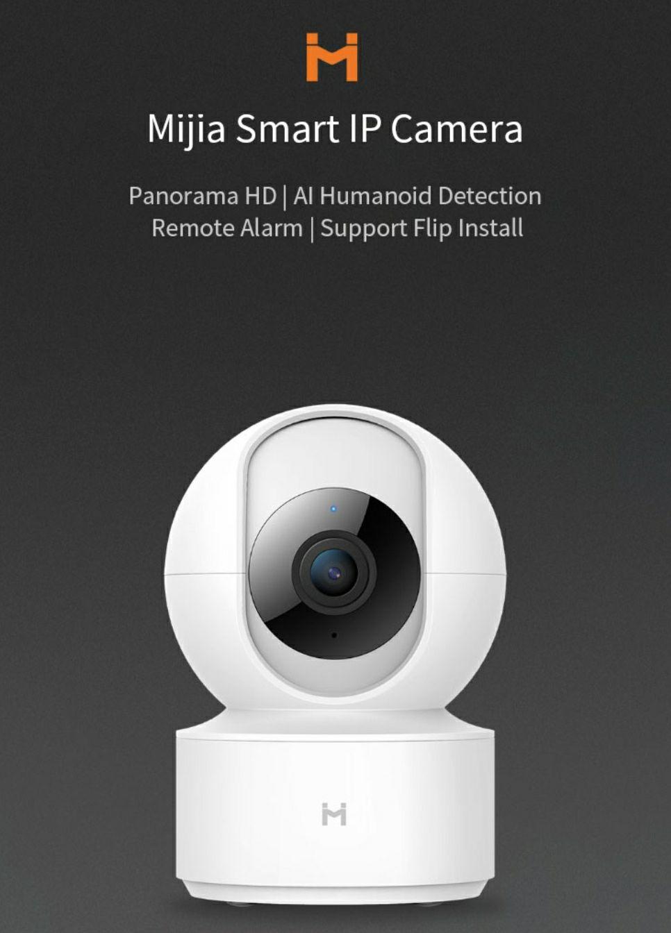Xiaomi Mijia IMILAB H.265 1080P 360° kamera IP @Banggood