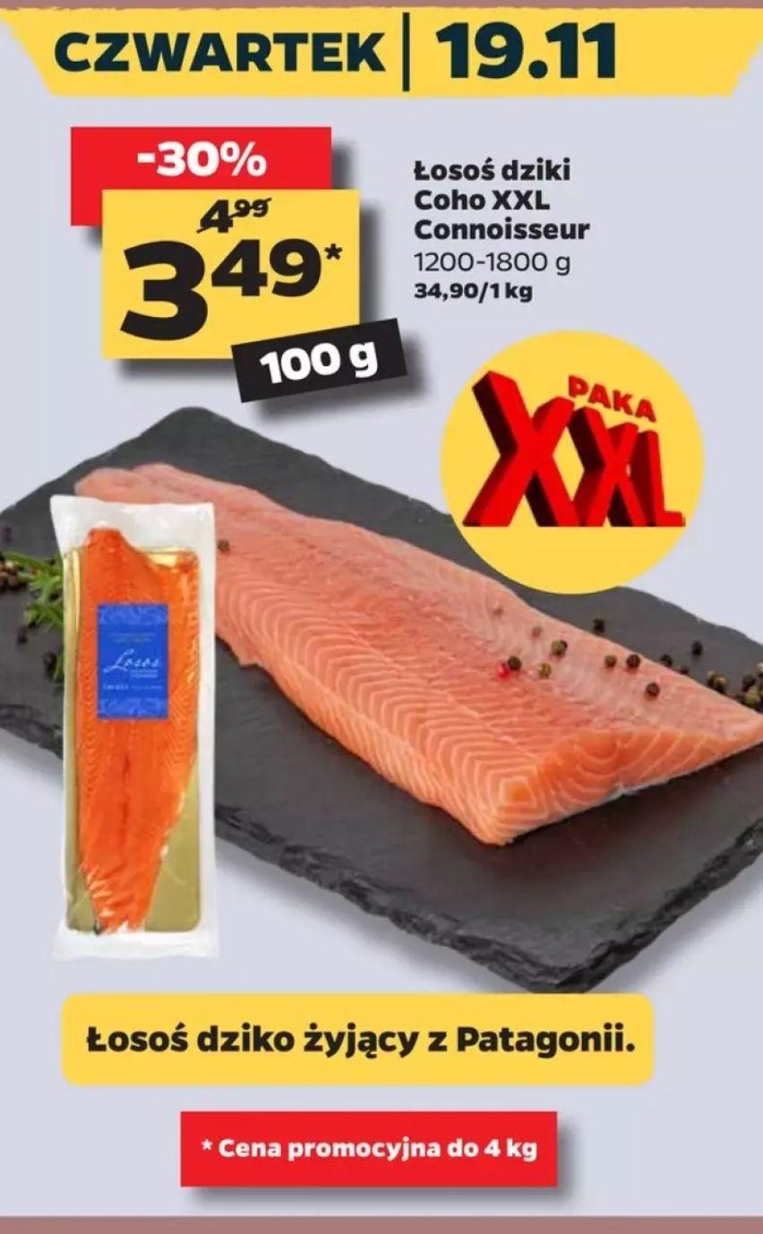 Łosoś dziki Coho XXL (cena za kg) w Netto