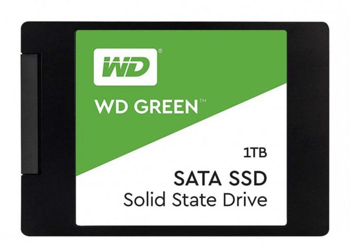 """Dysk WD WD 1TB 2,5"""" SATA SSD Green"""