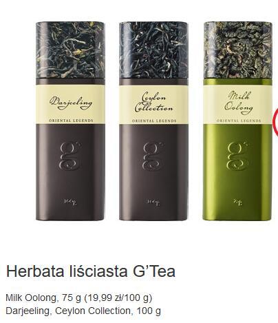 Herbata Milk oolong 75g 9,9zł, herbaty czarne Darjeeling 100g/9,9zł i sery Biedronka