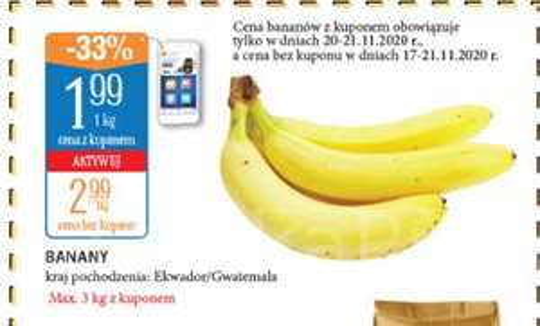 Banany kg @Leclerc