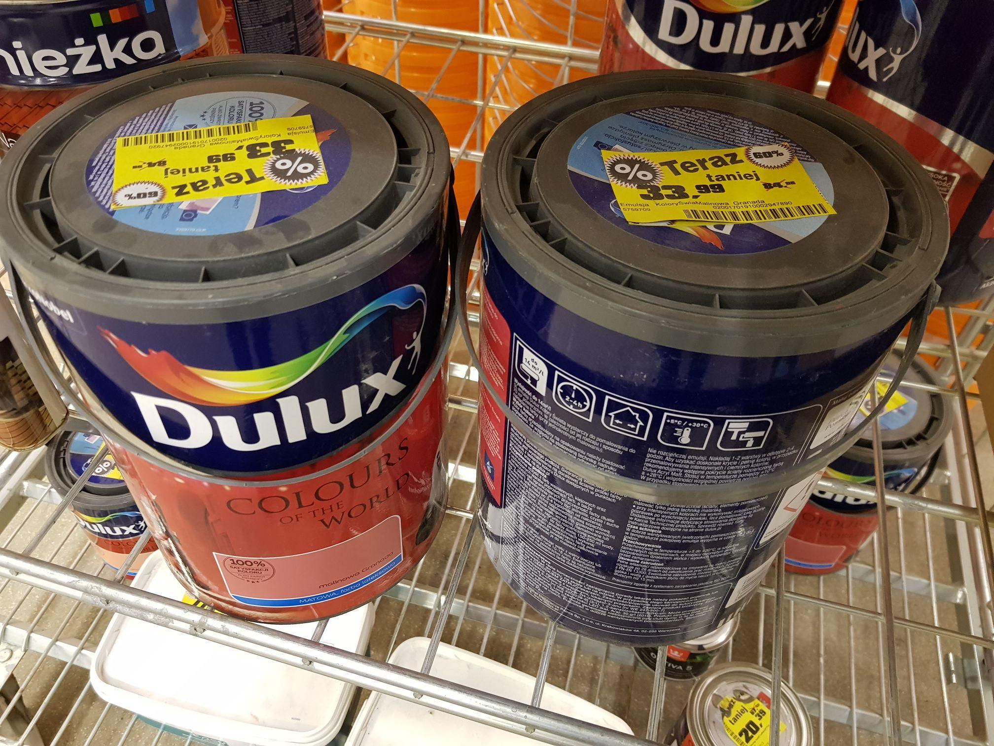 Dulux farba malinowa Granada