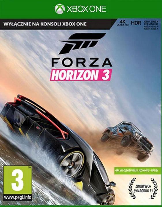 FORZA HORIZON 3 / XBOX ONE / NOWA / PL