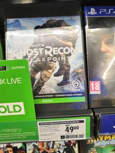 Ghost Recon breakpoint XBOX ONE Media Expert