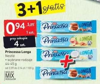 3+1 gratis Princessa Longa 0,94zł/44-45g przy zakupie 4 - Intermarche