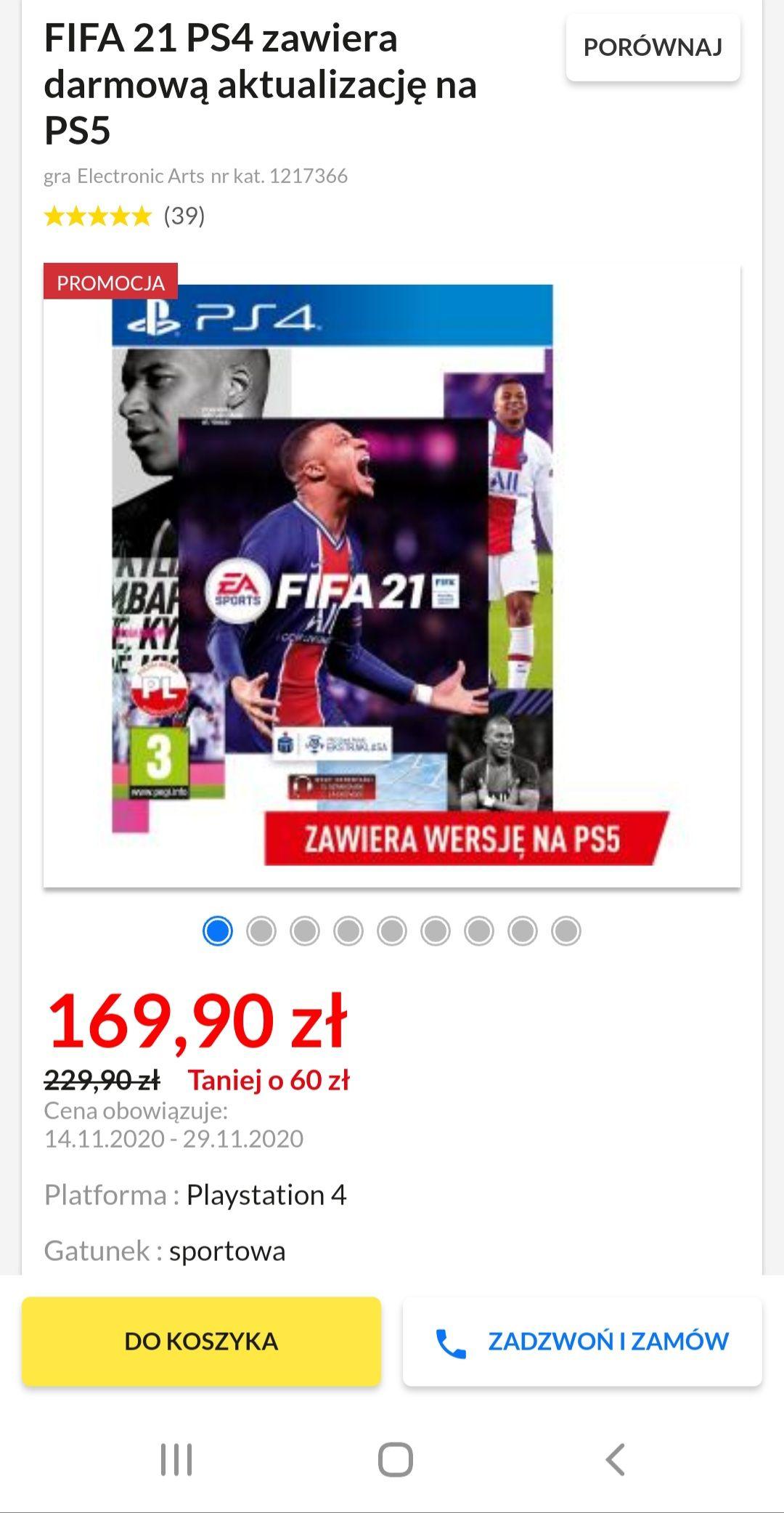 FIFA 21 PS4/PS5