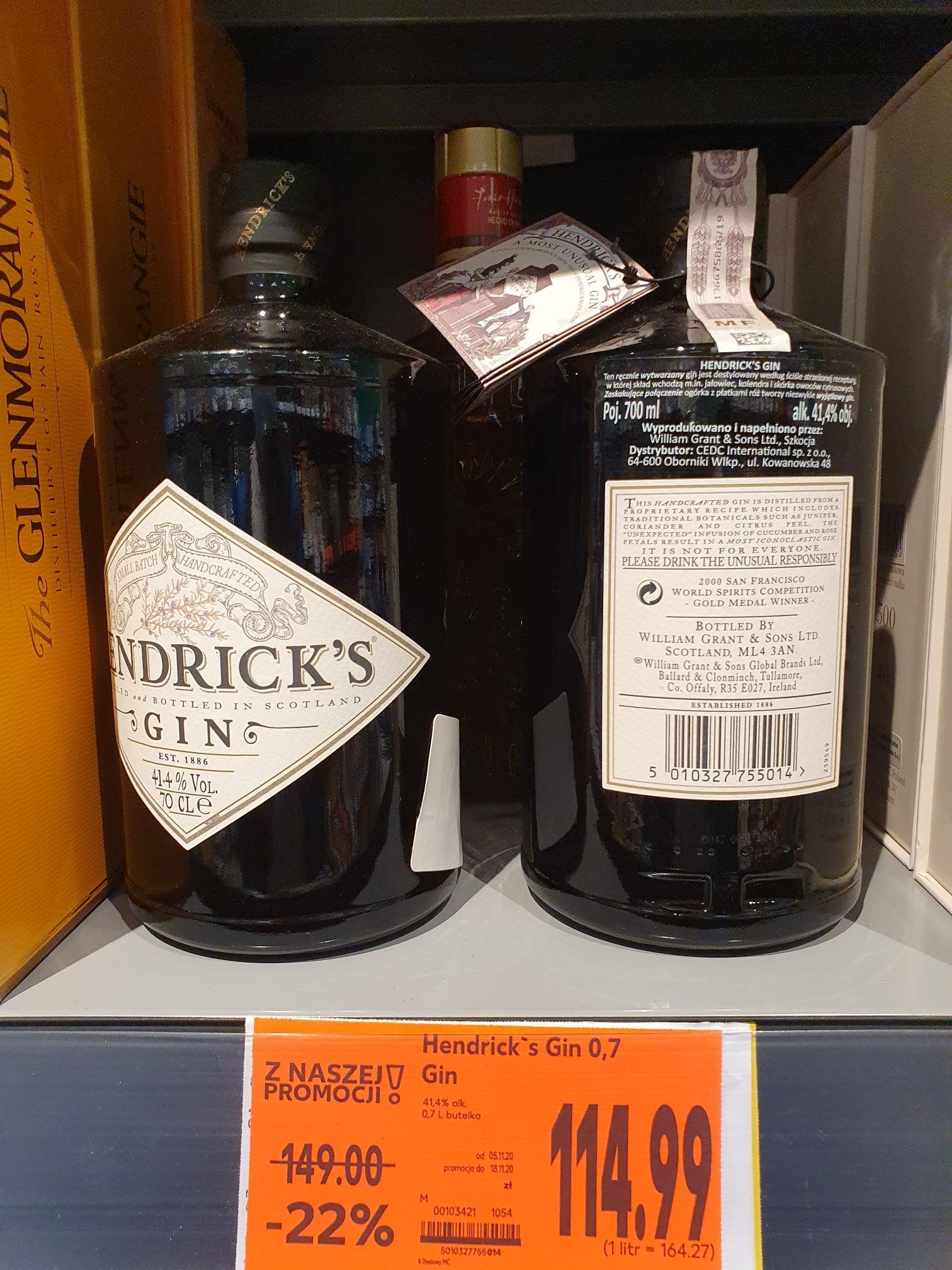 Hendrick's Gin 0,7