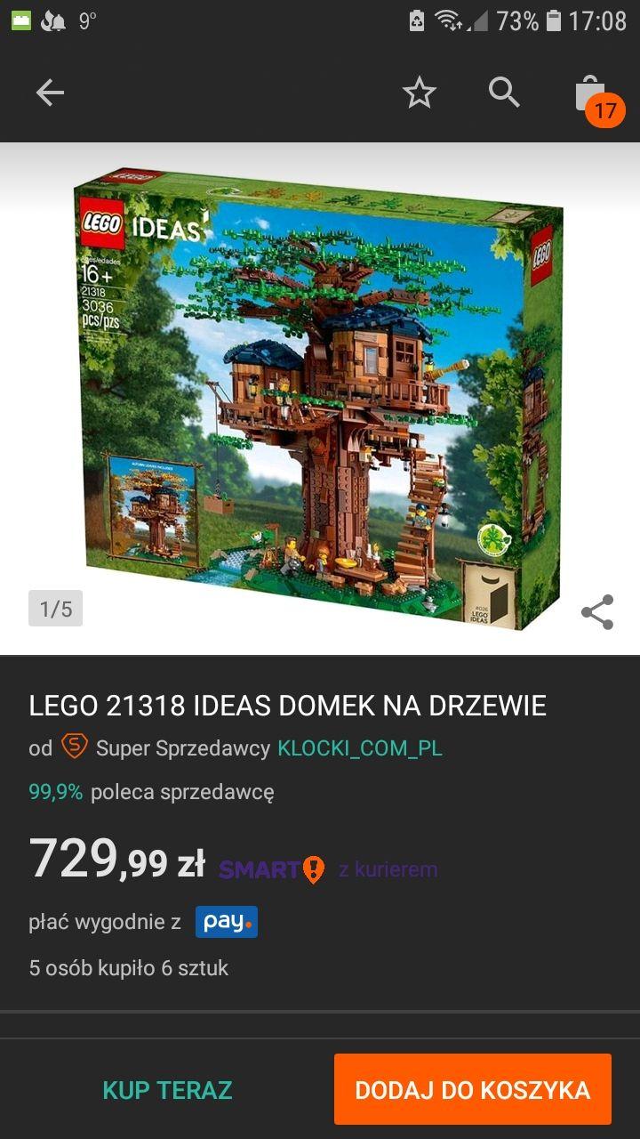 Lego Ideas 21318 - Domek na drzewie