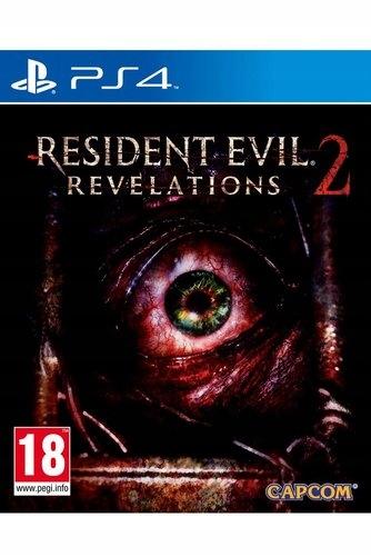 RESIDENT EVIL REVELATIONS 2 PS4 NOWA PO POLSKU DLC