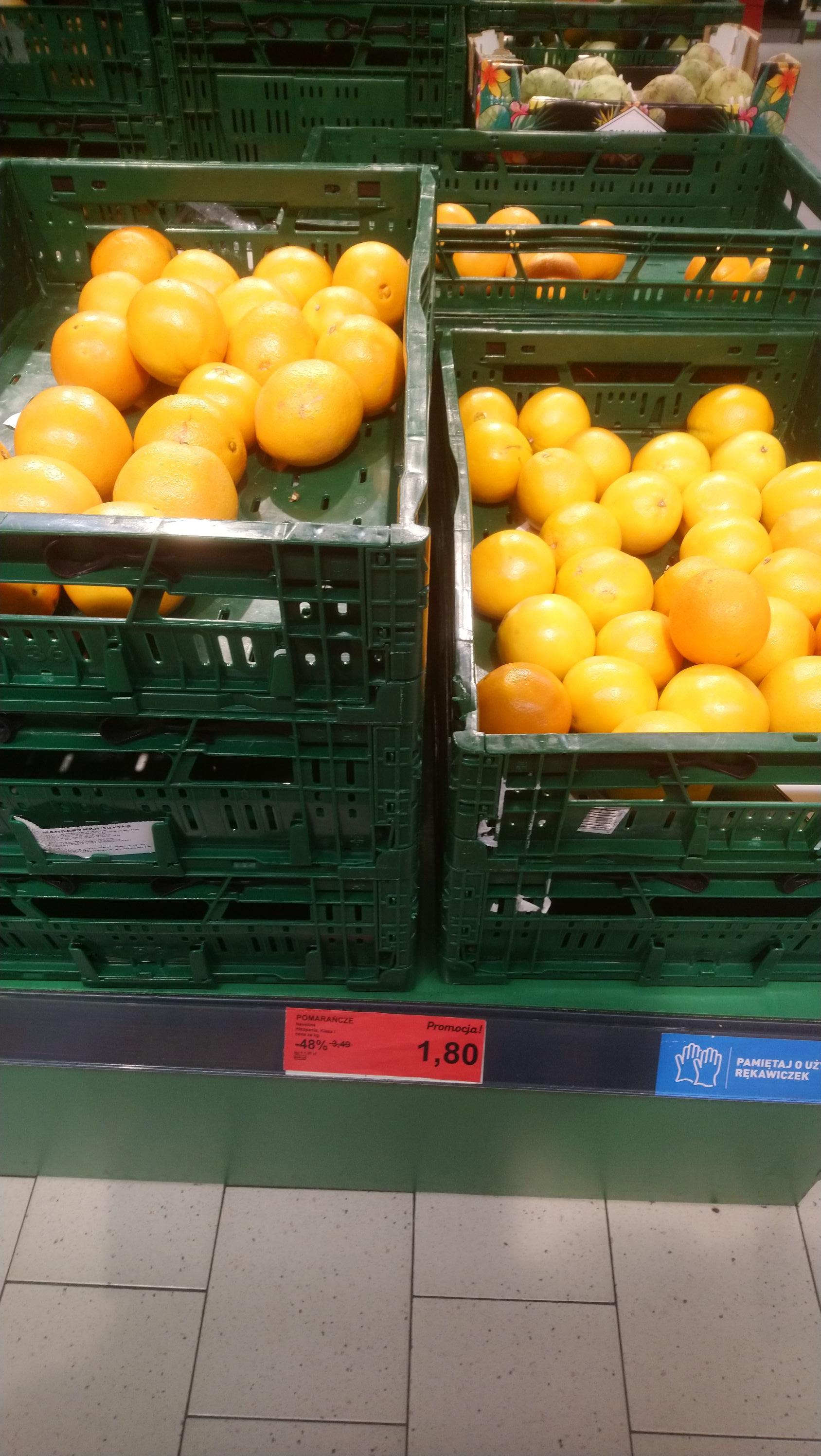 Pomarańcze Aldi Siemianowice