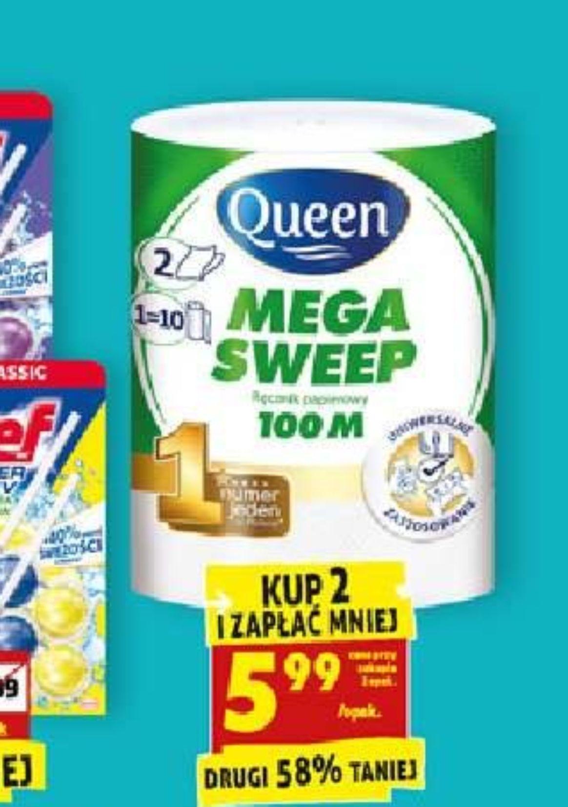 Ręcznik kuchenny Mega Sweep 100m przy zakup.2